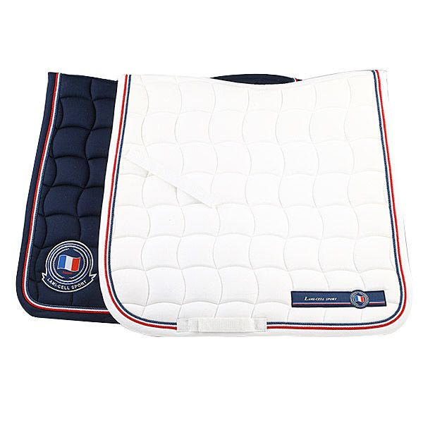 Tapis De Selle Dressage France Lami Cell Cheval Shop