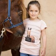 T-Shirt Fillette Novelty Horseware
