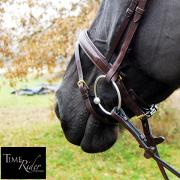 Muserolle Pull-Back TIME Rider Platinium-Bouclerie Or