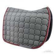 Tapis de selle Gris Dressage TIME Rider