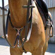 Collier de chasse 3 points TIME Rider Sport - Taille poney
