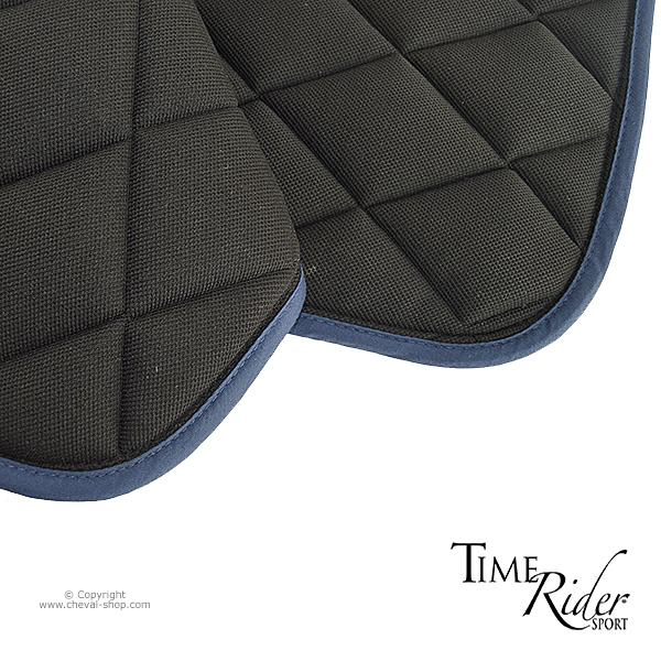 tapis de selle time rider sport ii marron cheval shop. Black Bedroom Furniture Sets. Home Design Ideas