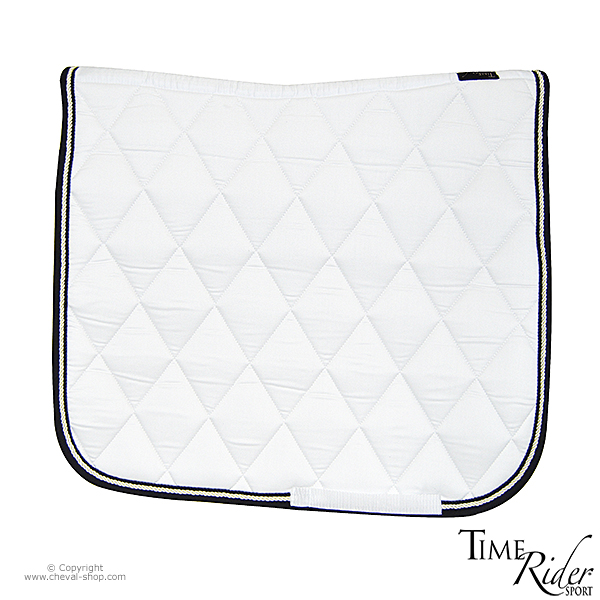 tapis de selle dressage time rider sport ii blanc cheval With tapis dressage blanc