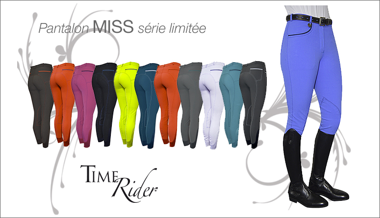 Edition limitée Miss TIME Rider