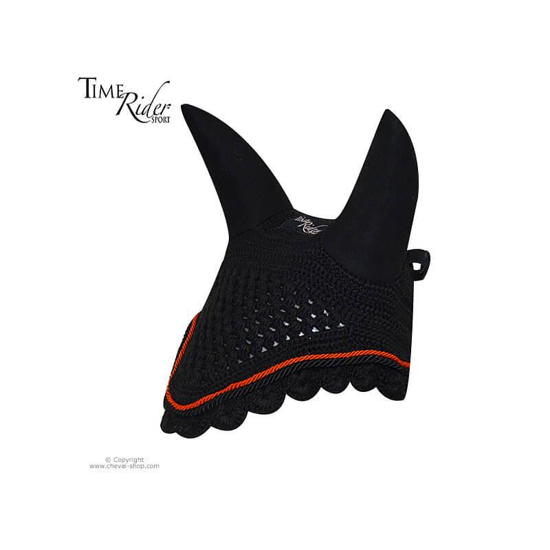 Bonnet anti-mouche TIME Rider Sport Noir