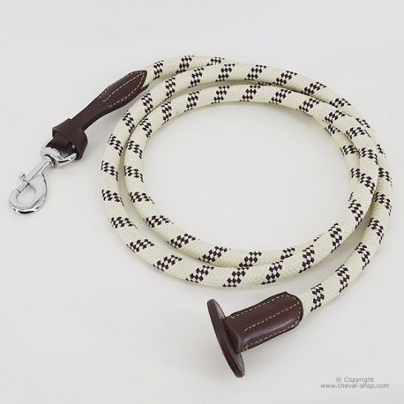 Longe corde et cuir TIME Rider