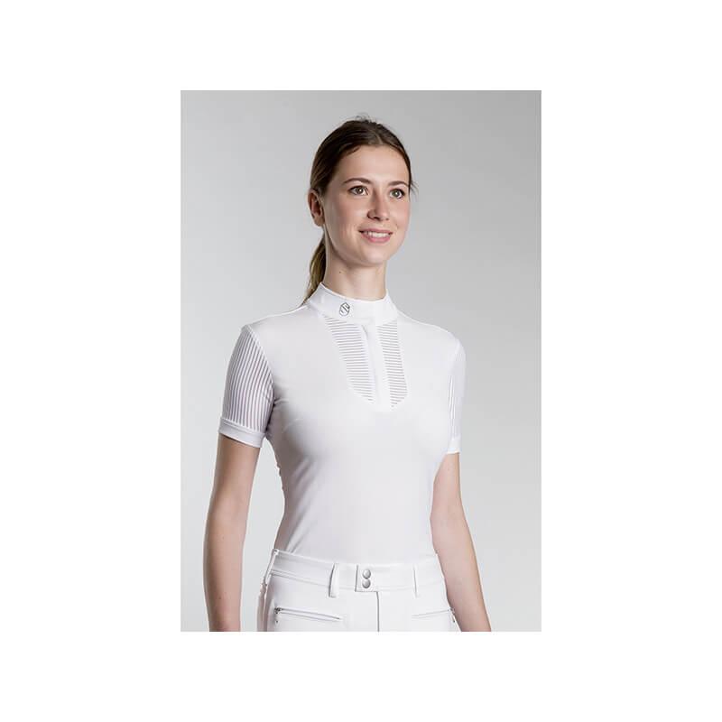 Polo de concours Samshield Apolline - Modèle femme