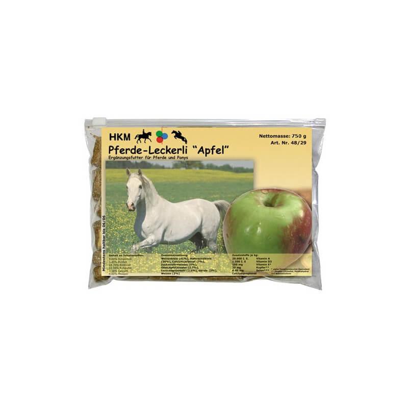 Bonbons pour chevaux avec goût - pomme - 750 g