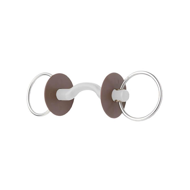 Mors Beris 2 anneaux avec passage de langue soft