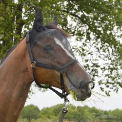Masque anti-mouches avec licol Horse & Go