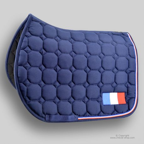 Tapis de selle TIME Rider France - CHEVAL-SHOP