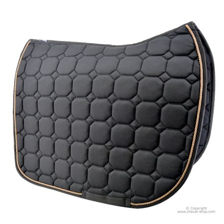 Tapis de selle Noir Dressage TIME Rider