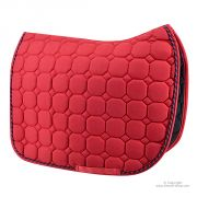 Tapis de selle Rouge Dressage TIME Rider