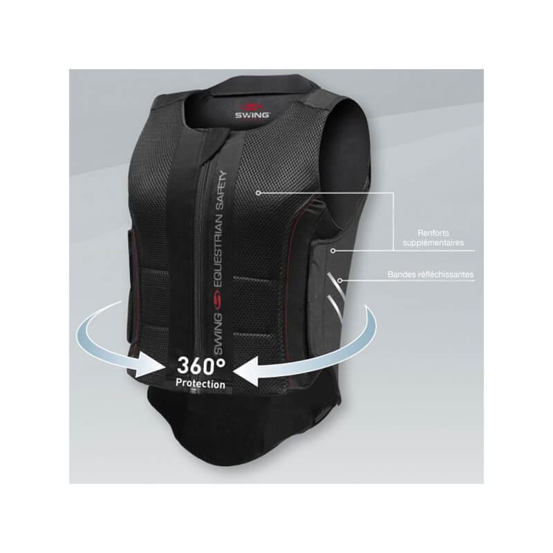 Protection dorsale flexible Swing P07 Enfant