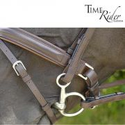Muserolle Pull-Back TIME Rider Platinium-Bouclerie Argent