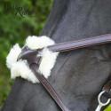 Muserolle croisée TIME Rider Platinium - Bouclerie argent