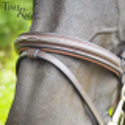 Muserolle combinée TIME Rider Platinium - Bouclerie Argent