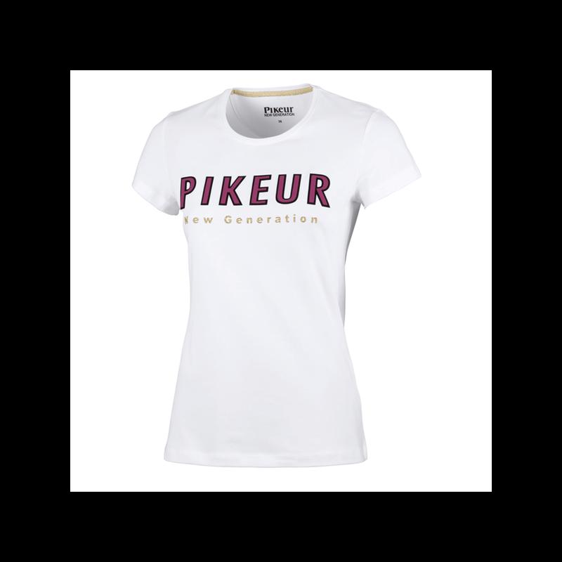 T-shirt femme col rond Lene Pikeur
