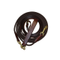 Rênes allemandes cuir + corde Time Rider