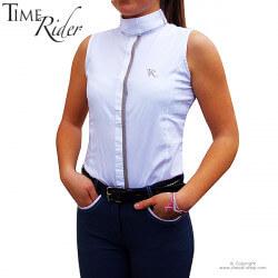 Chemise de concours Wellington sans manche TIME Rider - Modèle femme et fillette