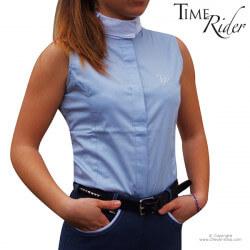 Chemise de concours Chantilly sans manches TIME Rider - Modèle femme et fillette