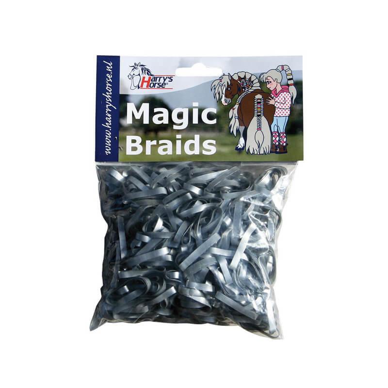 Elastiques plats à natter Magic Harry's Horse