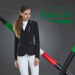 Veste de concours Charlotte Equiline - Modèle femme